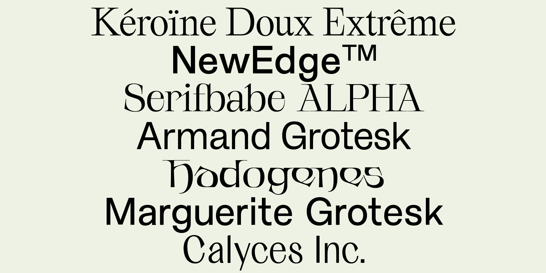 Studio Charlotte Rohde Typefaces Copy